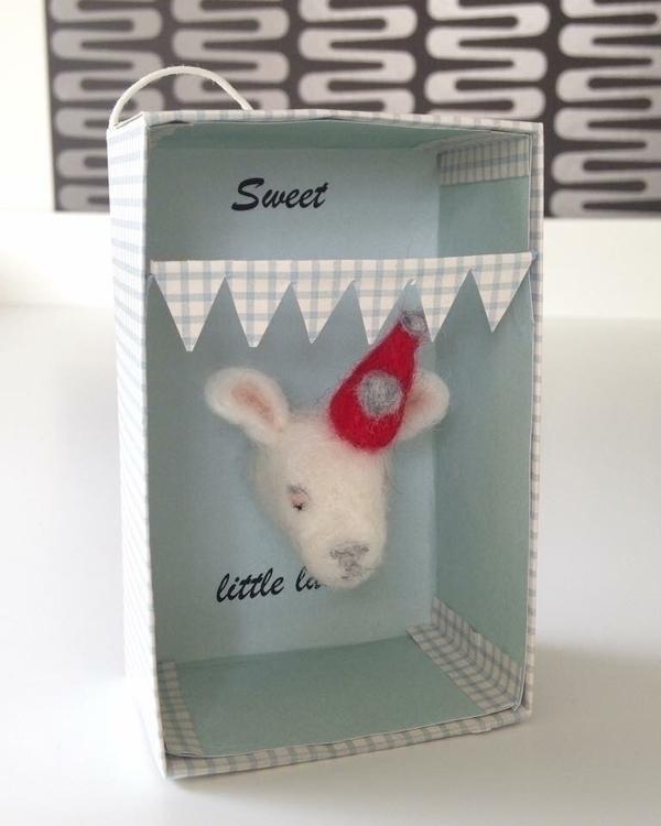 Sweet lamb. needlefelted filz v - bsofies | ello