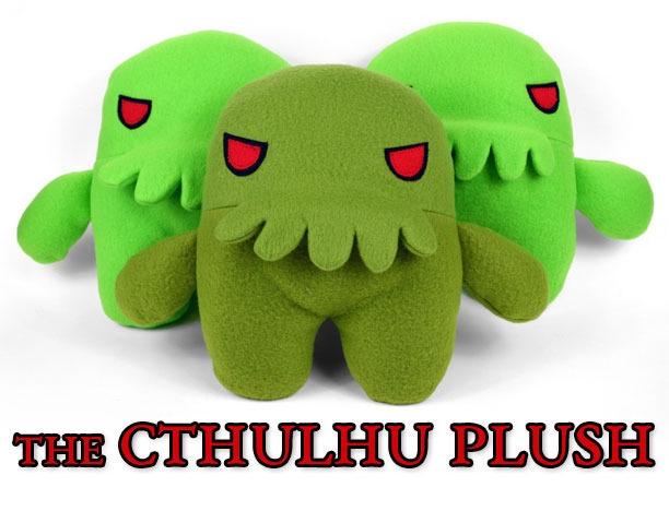 Cthulhu Plush / Choly Knight - red_wolf | ello