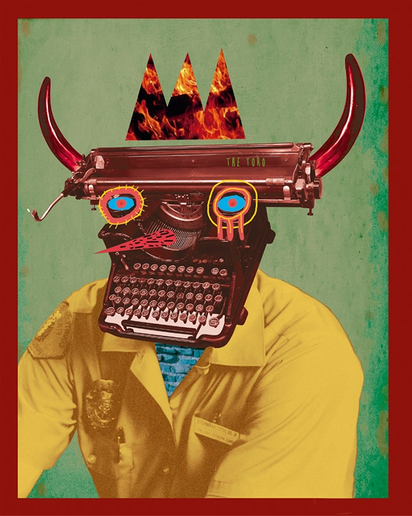 Toro collage digitalart art art - mrtronch | ello