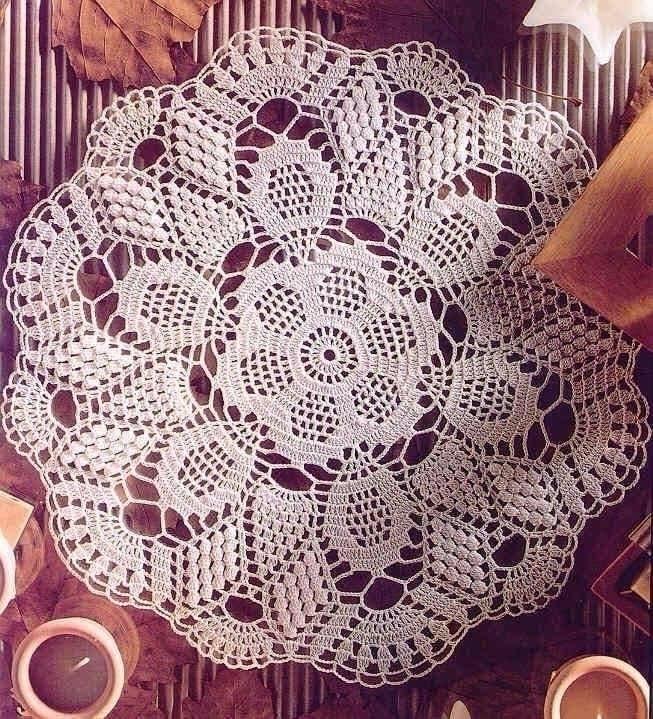 🔝👏😱😍 delicate towel table decor - brunacrochet | ello