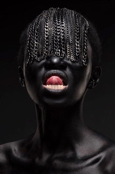 Thandiwe Muriu Silver (series) - blackartmatters | ello