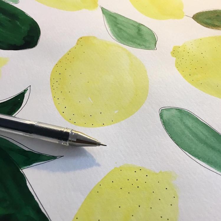 Lemons – Illustrations local ca - johannaguggenberger   ello