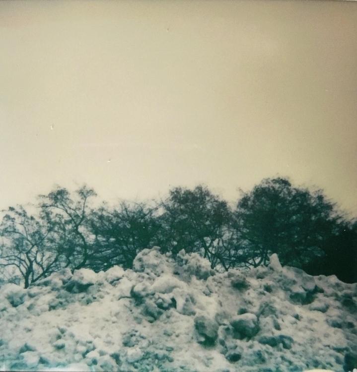snow pile - polaroid, instantfilm - jkalamarz   ello