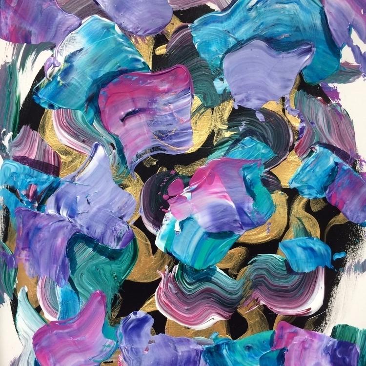 quick abstraction - art, texture - dhuston | ello
