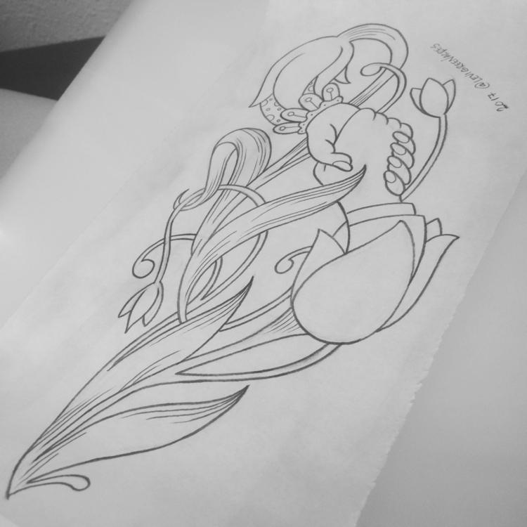 grow - tattooidea, tattoodesign - levigreenacres | ello