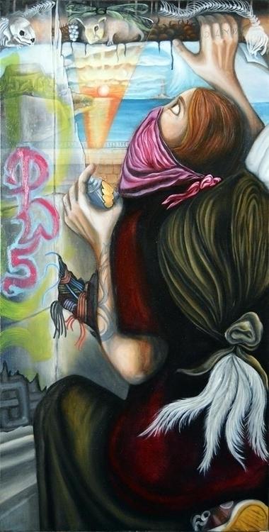 Guerrilla Angel Sasha Chaitow 2 - sashanonserviat | ello