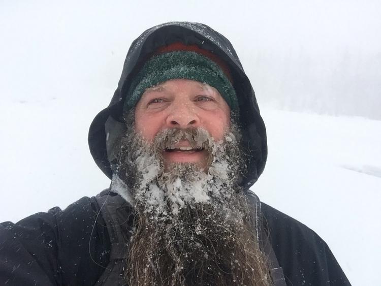 White River snow shoeing - keithmpdx   ello
