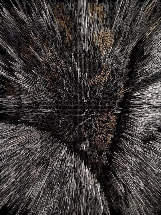 Glitched textures ✖  - art, digital - yellabor | ello