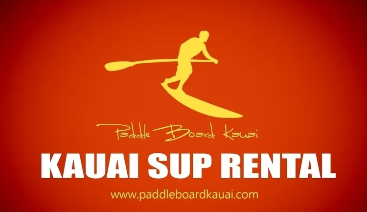 kauai paddle boarding art stand - kauaisuprental | ello