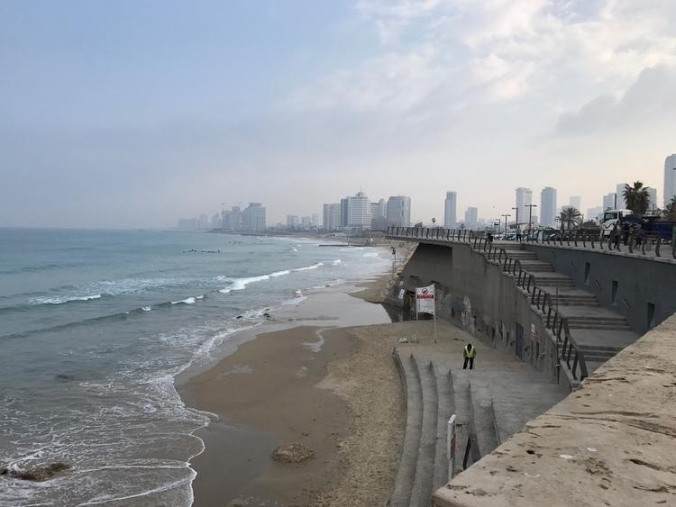 Tel coastline beautiful. shot i - arinewman | ello