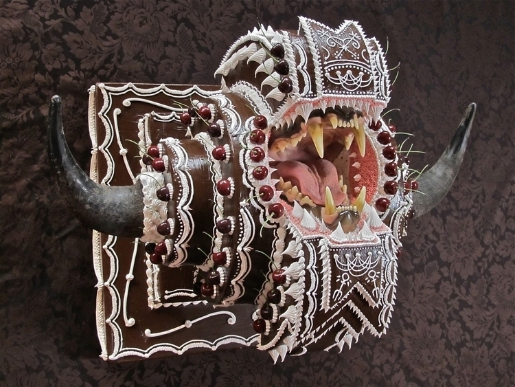 Cake Fangs: Sweetly Lethal Scul - scene360 | ello