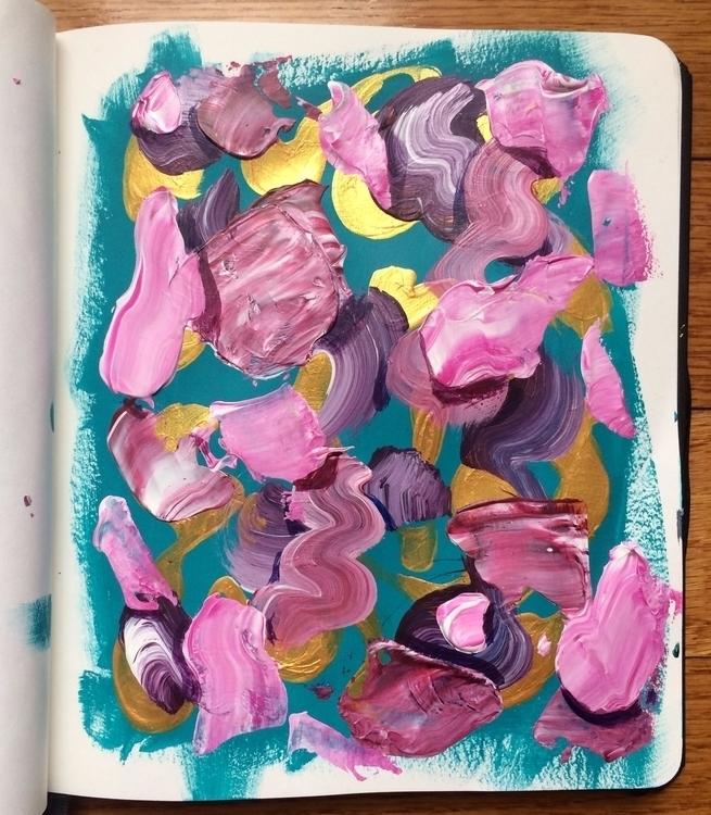 experimenting lot color schemes - dhuston   ello