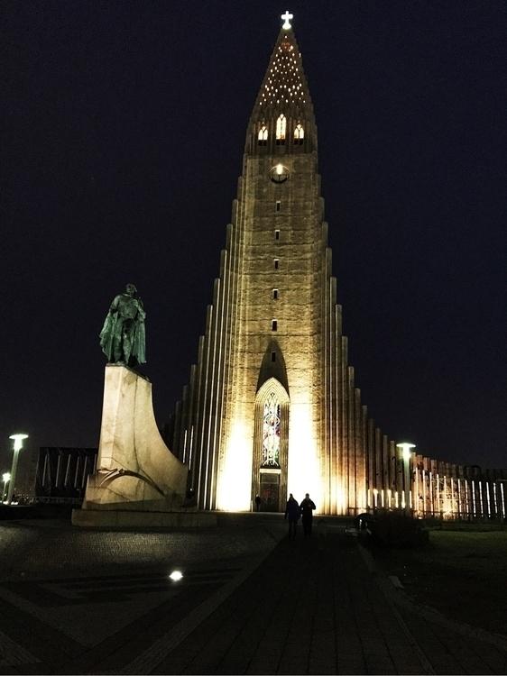 love architecture - Hallgrimskirkja - raynanator | ello