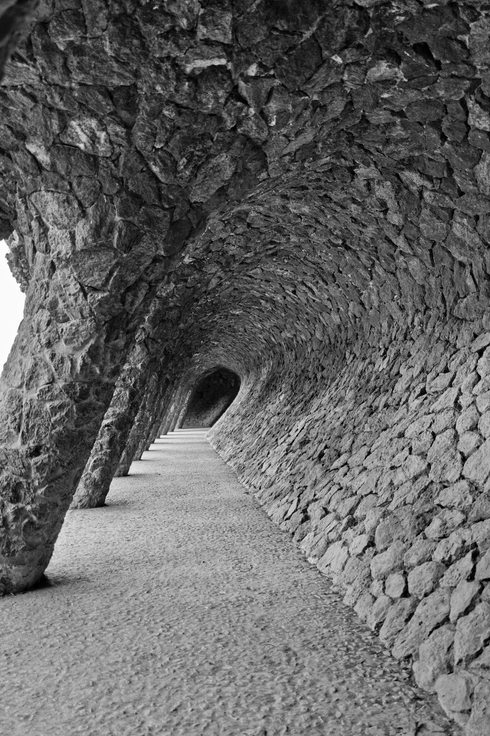 Hallways - Antoni Gaudi   - Spain - nickdelrosario   ello