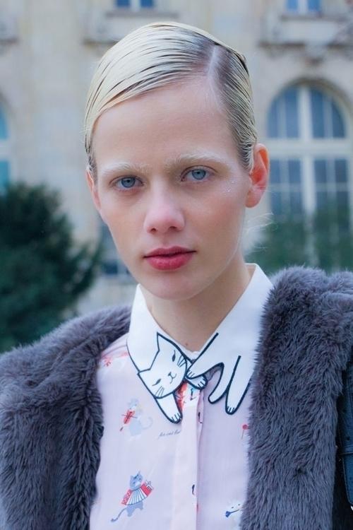 Marjan Jonkman  - portrait, model - fashionsnap | ello