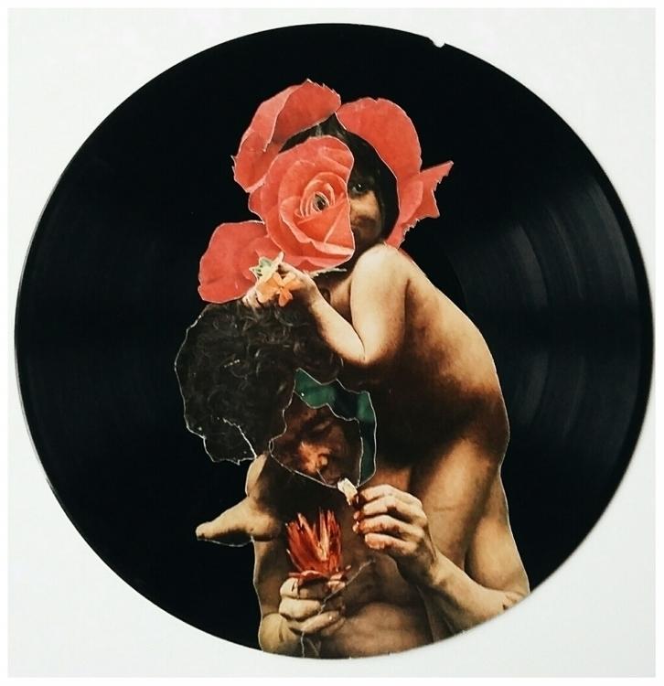 analog collage disorder record - esraesrakalk | ello