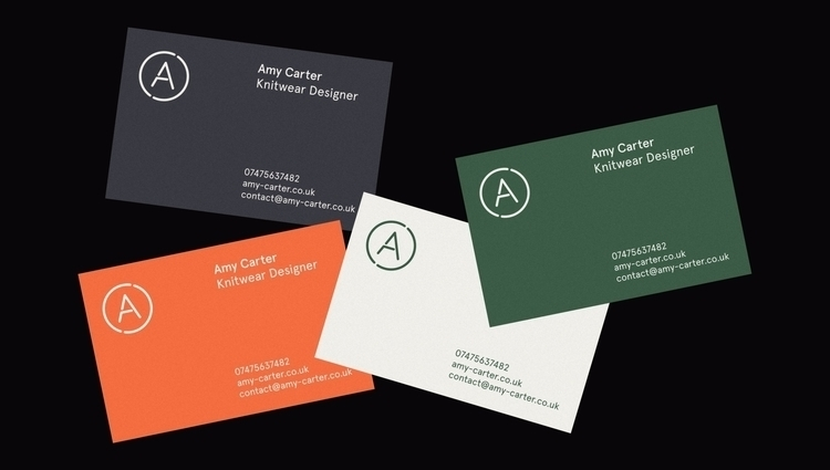 Business cards freelance projec - sam_hall   ello