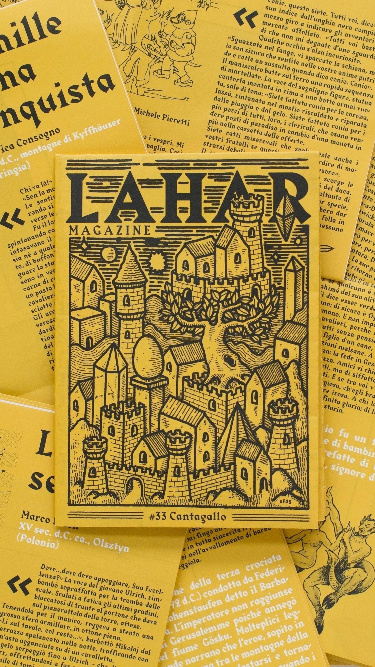 Lahar - contributors work creat - laharmagazine | ello