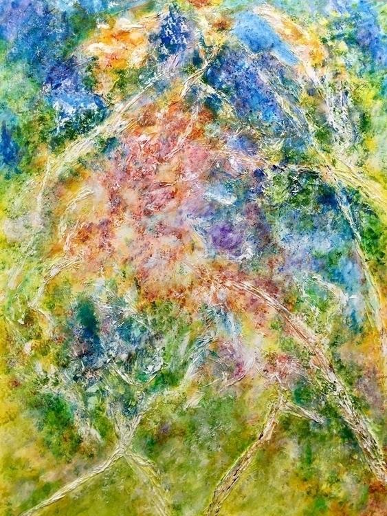 HWY 38 Acrylic paper canvas 30x - geralyninokuchi | ello