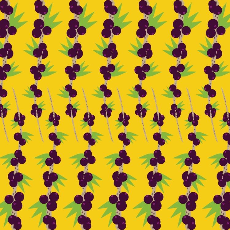 Açai Pattern 😏🇧🇷 Insta - guaruja - sabiacriativo | ello