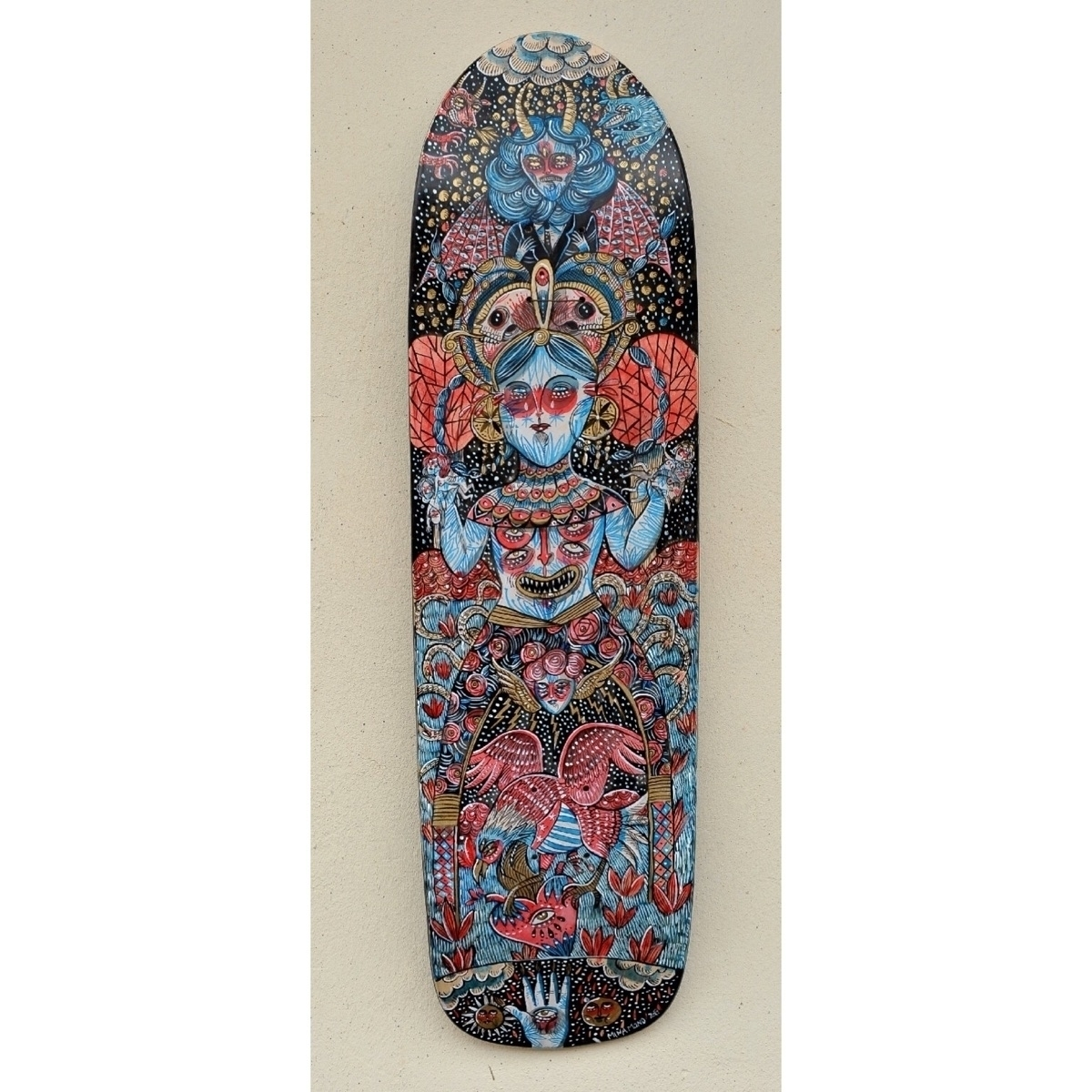 Lady Hatred Acrylic skate deck - minamond   ello