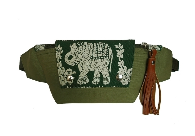 Thai elephant fanny pack. Handm - iampemii | ello