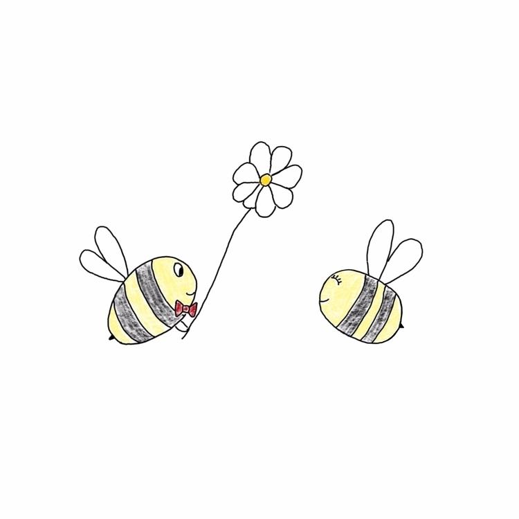 Bees Date - redbubble, bees, bumblebees - teapotsforelephants | ello