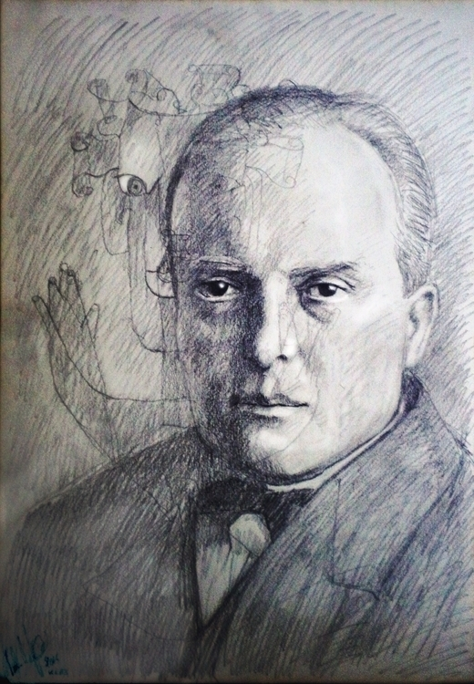 painting, artist, philosopher:  - paolobeneforti | ello