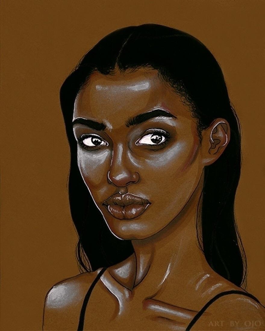 Ojo Agi Amina, Daughters Diaspo - blackartmatters   ello