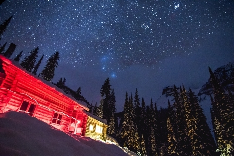 single clear night time Boulder - thomaswoodson   ello