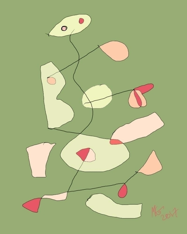 making slowly. Digital drawing - myrongilbert | ello