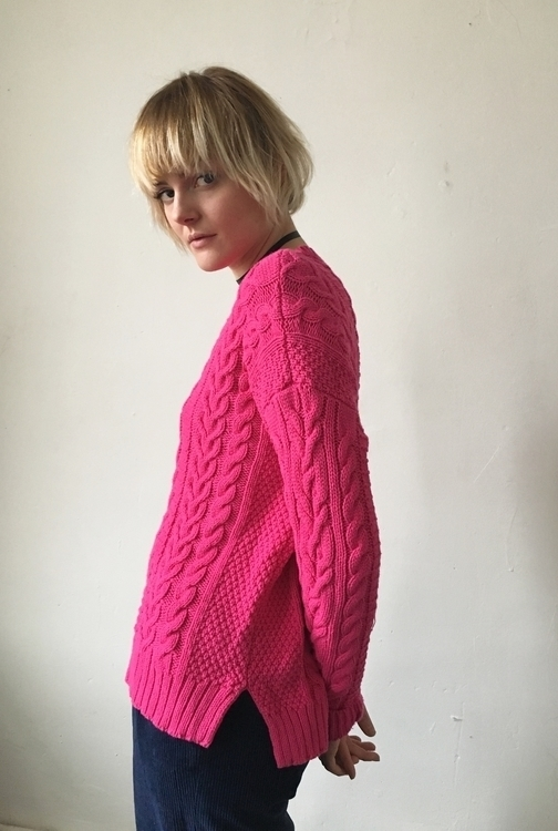 Ralph Lauren Fuchsia Sweater, $ - hhoneypot | ello
