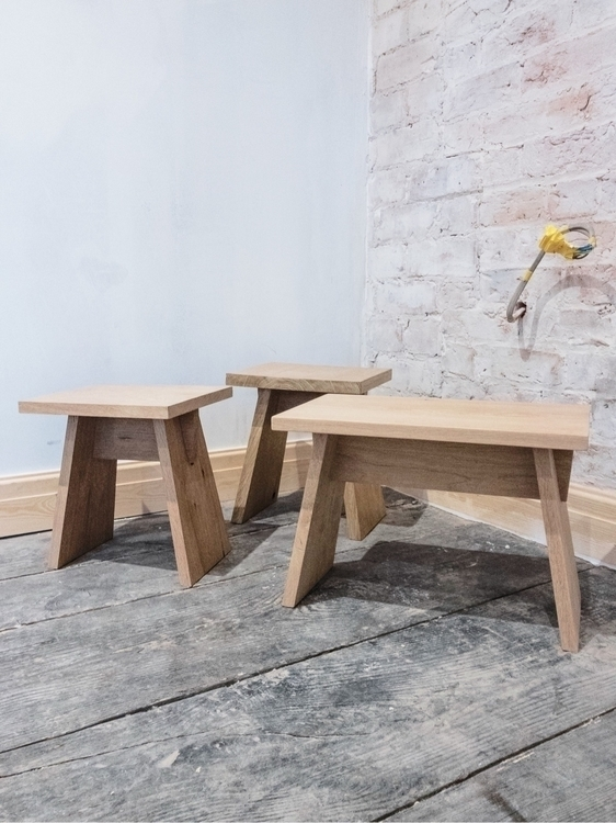 working oak stool designs ready - iamunknown | ello