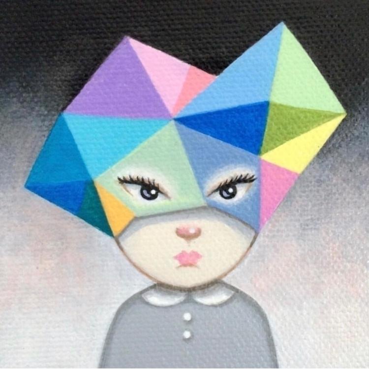Colorful Mind 🌈  - art, painting - carolinaseth   ello