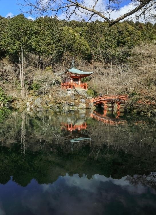 Daigo-ji Temple Bentendo. -Febr - miki_abe | ello