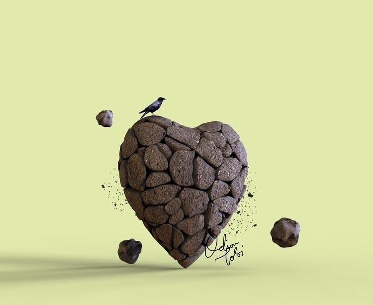 Love Air,  - ello, 3d, illustration - spartos | ello