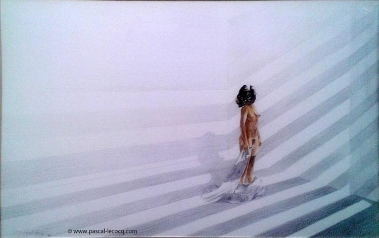 CHAIR OMBRES - Flesh shadows wa - bluepainter | ello