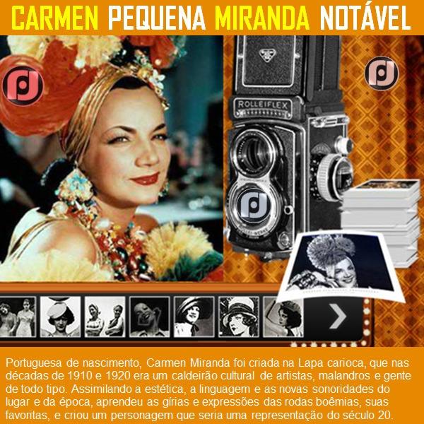 Carmem Miranda - Pequena Notáve - jfhyppolito | ello
