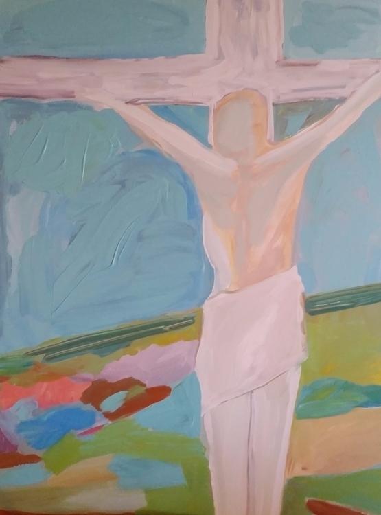 30x40 acrylic canvas $333.00 sa - roxymoxyart | ello