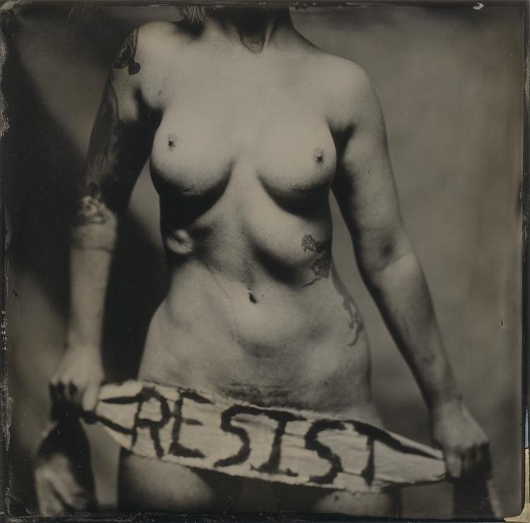 Resist - tintype, wetplate, resist - lacunha | ello