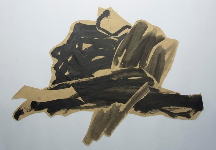 Comet Dusk , Collage - art, abstract - wrjenkinson | ello