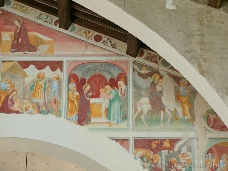 ( ): Frescos showing episodes l - milanofotografo | ello
