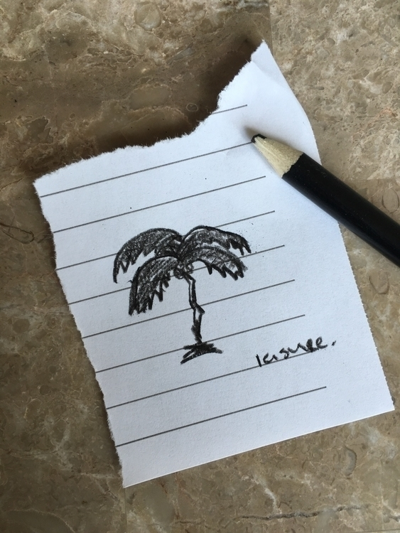 Home sick Missing sun child  - sketch - noelle_leisure | ello