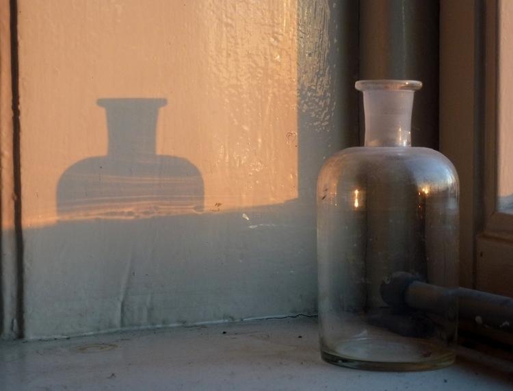 Photo, 6 PM. Bottle shadow wind - titusschulz | ello