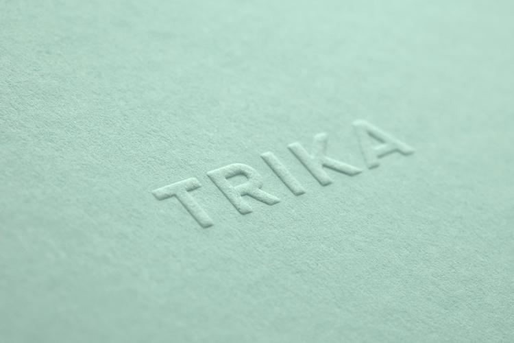 Brand identity Trika, interior  - bunchdesign | ello