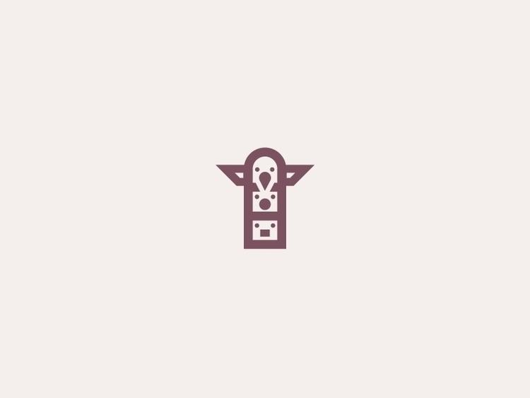 Totem Pole (01/365 - design, designer - darumacreative | ello