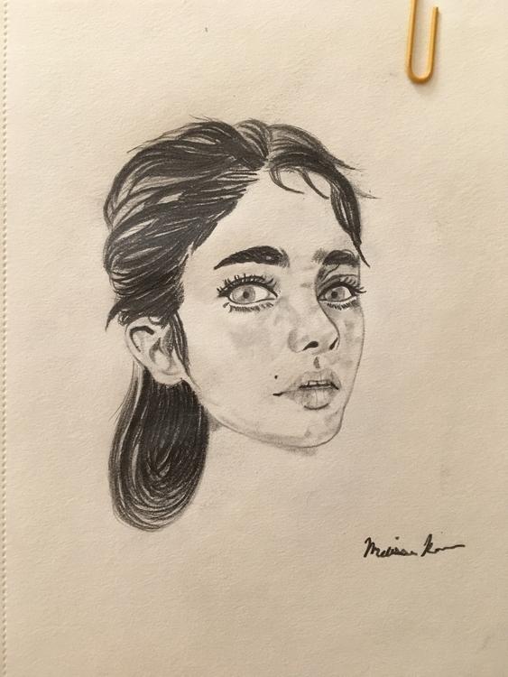 Eyes- Melissa Romeo Carson Arti - missymel6 | ello
