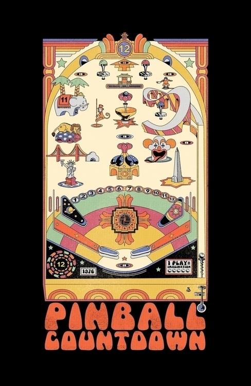 favorite Pinball Countdown - SesameStreet - maplekeystudio | ello