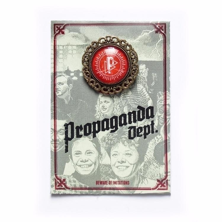 Metal pin brooch Propaganda Dep - propagandadept | ello