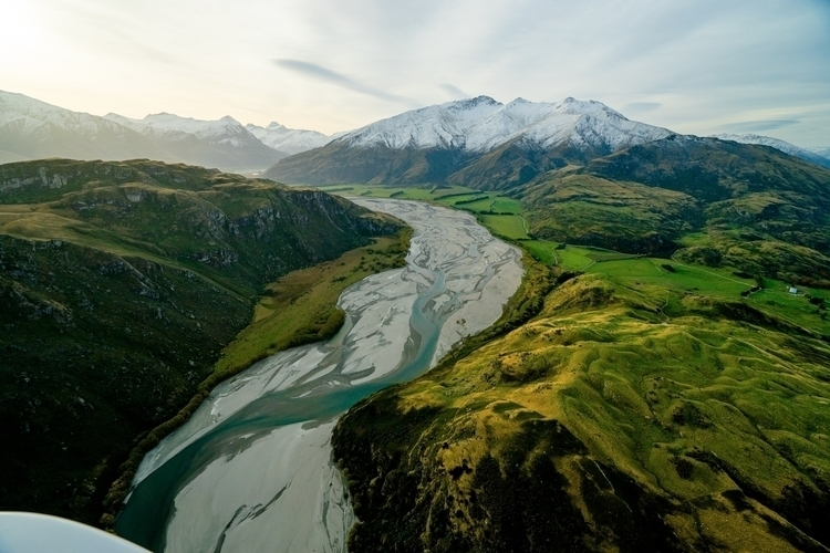 river formed glacial melt Zeala - chrisburkard | ello